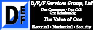 D/E/F logo